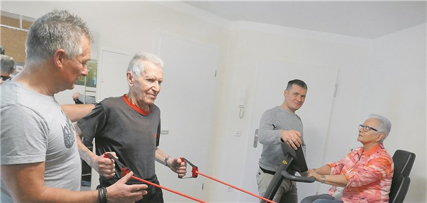 Senioren-Fitness im Studio nebenan