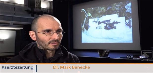 Frau mark trennung benecke Kriminalbiologe Mark