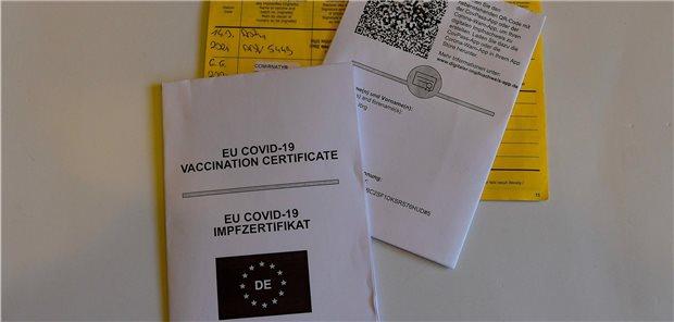 Verwirrung Um Corona Impfzertifikate In Brandenburg